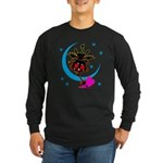 Devil cat 2 Long Sleeve Dark T-Shirt