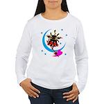 Devil cat 2 Women's Long Sleeve T-Shirt