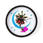 Devil cat 2 Wall Clock