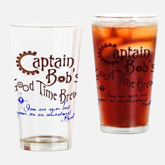 Unique Captain bob Drinking Glass