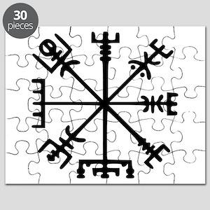 Viking Compass : Vegvisir Puzzle