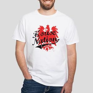 House Nation - Baseball / White T-Shirt