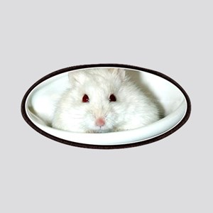 White-Albino Hamster Patches