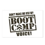 Bootcamp Voice Postcards (Package of 8)