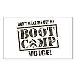 Bootcamp Voice Sticker