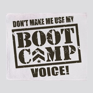 Bootcamp Voice Throw Blanket