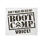 Bootcamp Voice Throw Blanket