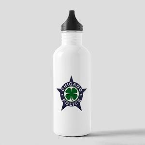 Chicago Police Irish Badge Stainless Water Bottle