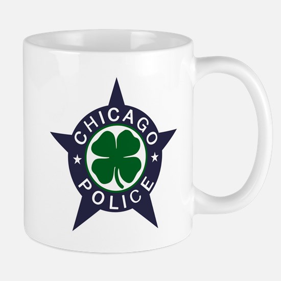 Chicago Police Irish Badge Mug