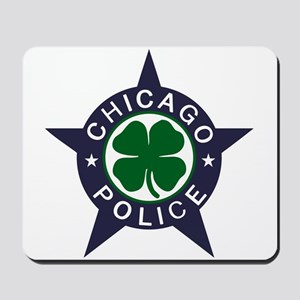 Chicago Police Irish Badge Mousepad