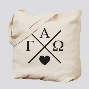 Gamma Alpha Omega Cross Tote Bag