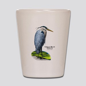 Great Blue Heron Shot Glass