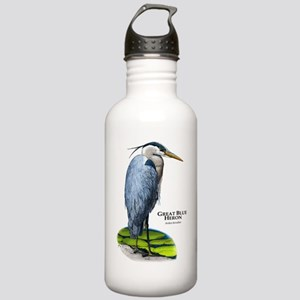 Great Blue Heron Stainless Water Bottle 1.0L