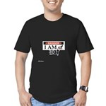 Labels Men's Fitted T-Shirt (dark)