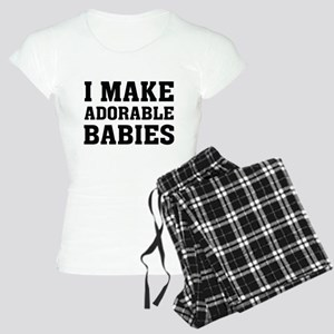 I Make Adorable Babies Women's Light Pajamas