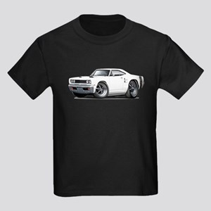 1969 Coronet White Car Kids Dark T-Shirt