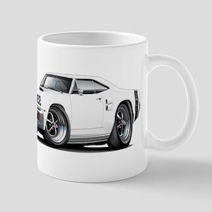 1969 Coronet White Car Mug