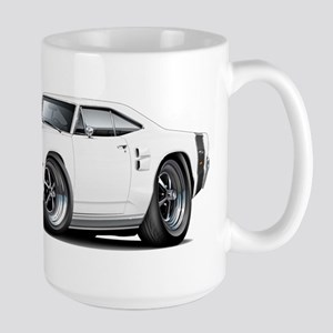 1969 Coronet White Car Large Mug