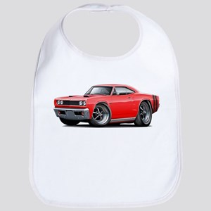1969 Coronet Red Car Bib