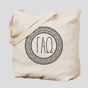 Gamma Alpha Omega Medallion Tote Bag