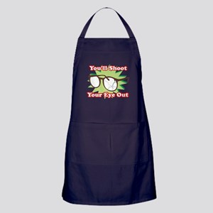 Shoot Eye Out Apron (dark)