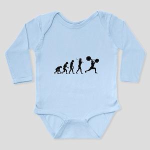 Evolved To Lift Long Sleeve Infant Bodysuit