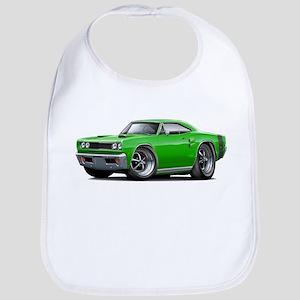 1969 Coronet Green Car Bib