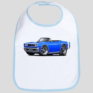 1969 Coronet Blue-White Convert Bib