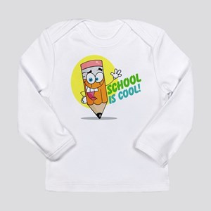 School is Cool Long Sleeve Infant T-Shirt