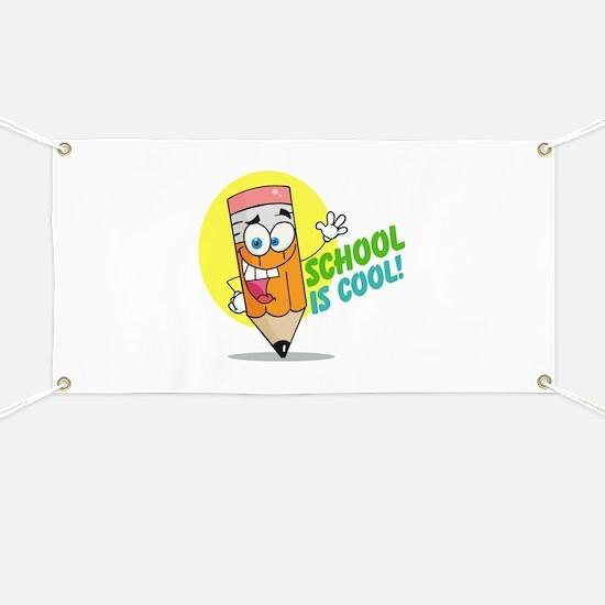 School is Cool Banner