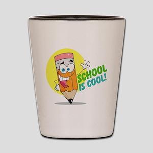 School is Cool Shot Glass