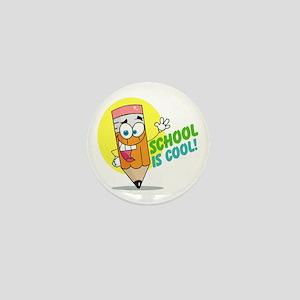 School is Cool Mini Button