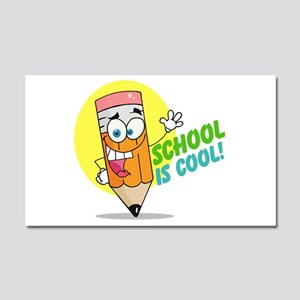 School is Cool Car Magnet 20 x 12