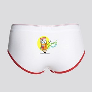 School is Cool Women's Boy Brief