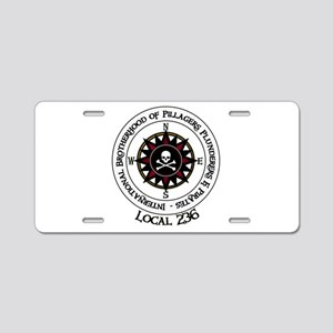 IBPPP Local 236 Aluminum License Plate