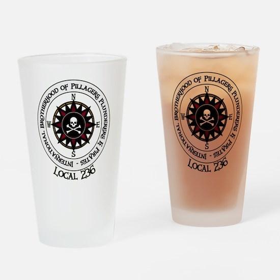 IBPPP Local 236 Drinking Glass
