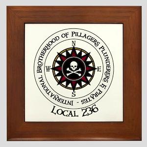 IBPPP Local 236 Framed Tile