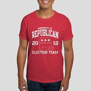 Republican Election Team 2012 Dark T-Shirt