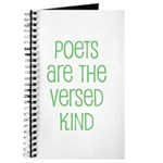 Poets are the versed kind Journal