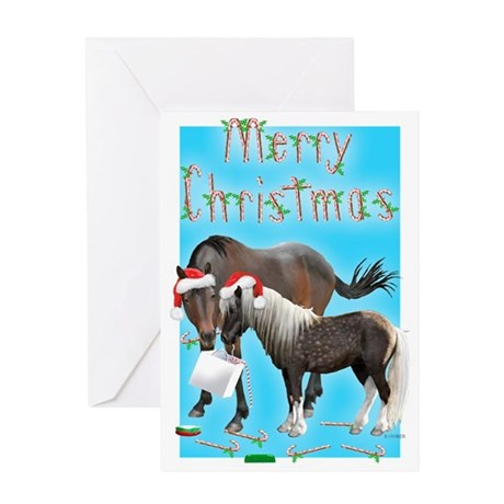 Caballo and Cisco Christmas Greeting Card