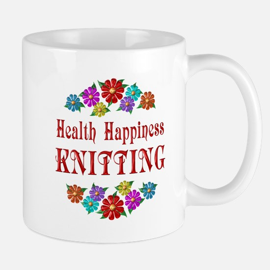 Knitting Happiness Mug