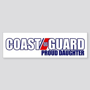 USCG Daughter Sticker (Bumper)