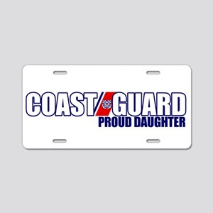 USCG Daughter Aluminum License Plate