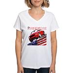 Shellbee Designs Women's V-Neck T-Shirt