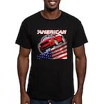 Shellbee Designs Men's Fitted T-Shirt (dark)