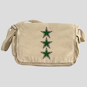Green Star Belly Messenger Bag