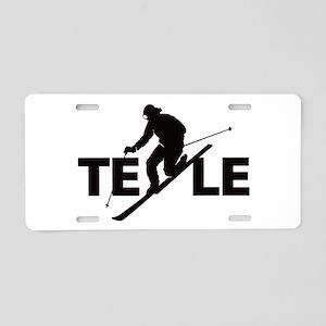 TELE Aluminum License Plate