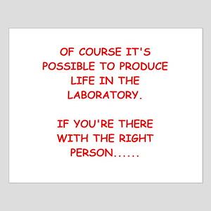 funny physics joke Small Poster
