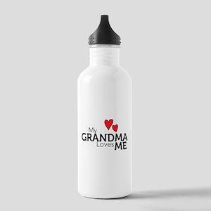 My Grandma Loves Me Stainless Water Bottle 1.0L