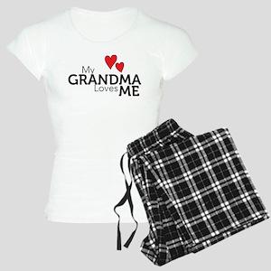 My Grandma Loves Me Women's Light Pajamas